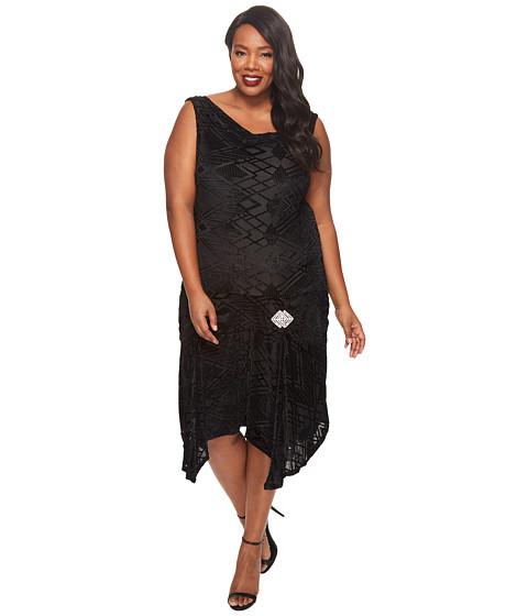 Imbracaminte Femei Vince Camuto Plus Size Sleeveless Mix Media V-Neck Blouse Deep Claret