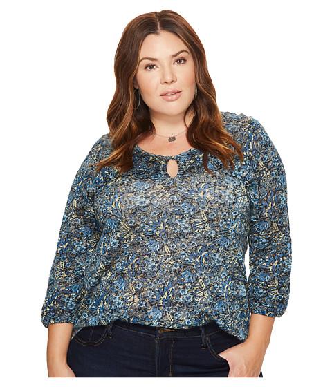 Imbracaminte Femei Lucky Brand Plus Size Floral Ruffle Top Multi