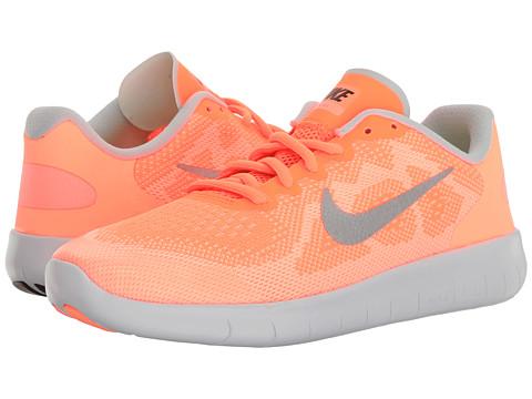 Incaltaminte Fete Nike Free RN 2017 (Big Kid) TartMetallic SilverSunset GlowWhite