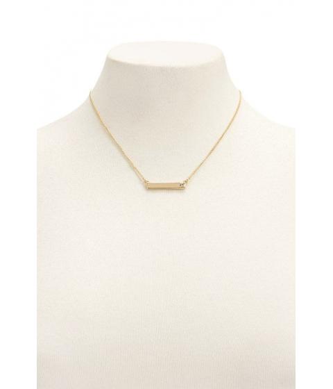 Bijuterii Femei Forever21 Bar Pendant Necklace GOLDCLEAR