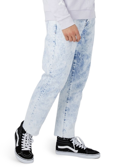 Imbracaminte Barbati TOPMAN Nimbus Original Fit Jeans LIGHT BLUE