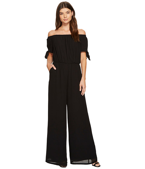 Imbracaminte Femei Catherine Catherine Malandrino Off Shoulder Jumpsuit Black Beauty