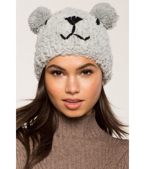 Accesorii Femei CheapChic Beary Cute Cozy Beanie Gray