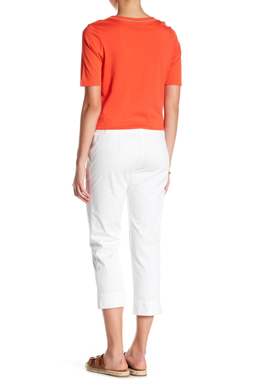 Imbracaminte Femei Tommy Bahama Sail Away Twill Crop Pants WHITE