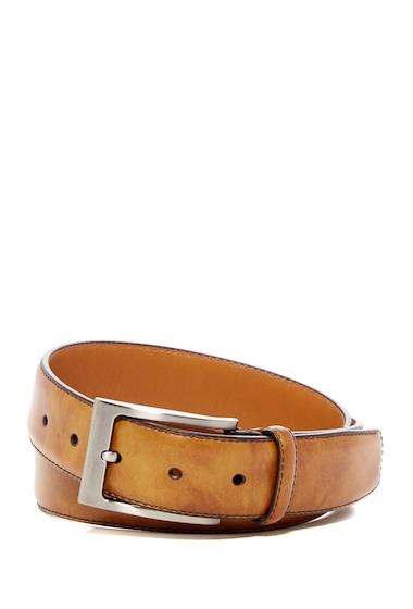 Accesorii Barbati Magnanni Square Buckle Leather Belt CUERO
