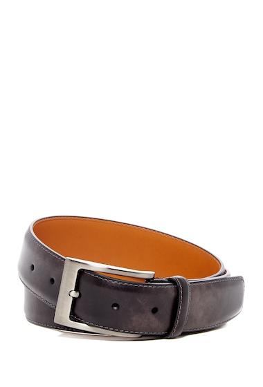 Accesorii Barbati Magnanni Square Buckle Leather Belt GREY