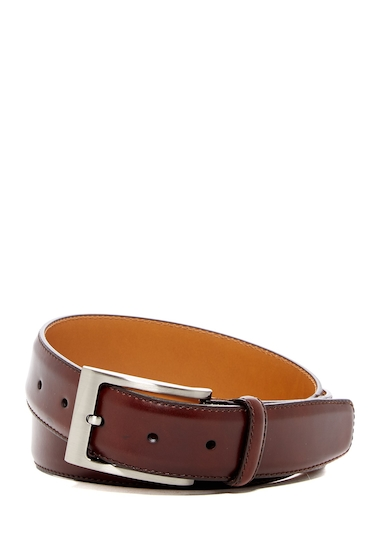 Accesorii Barbati Magnanni Square Buckle Leather Belt MID BROWN