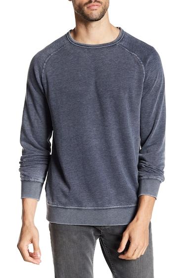 Imbracaminte Barbati Lucky Brand Washed Crew Neck Fleece Pullover AMERICAN NAVY