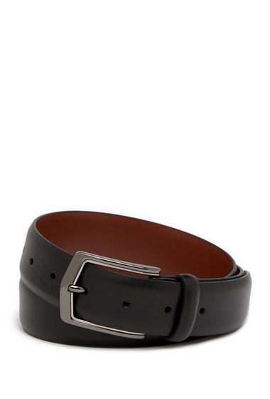 Accesorii Barbati Original Penguin Leather Stretch Dress Belt BLK