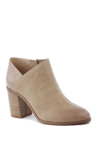 Incaltaminte Femei BC Footwear Kettle Block Heel Bootie TAUPE