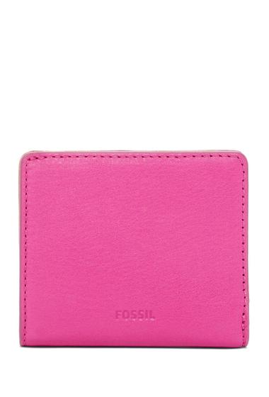 Genti Femei Fossil Emma Mini Leather Wallet HOT PINK