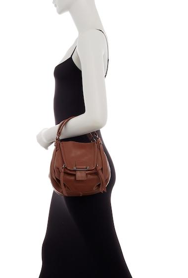 Genti Femei Kooba Mini Jonnie Leather Crossbody Bag MINERAL 12