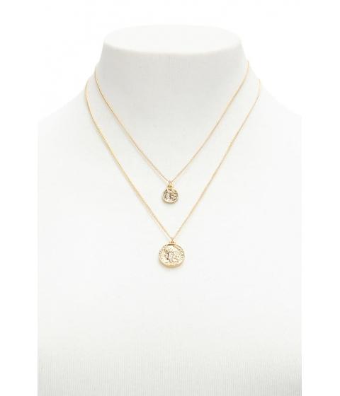 Bijuterii Femei Forever21 Coin Necklace Set GOLD