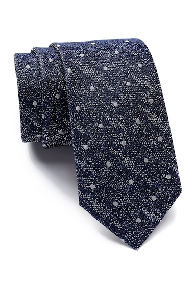 Accesorii Barbati 14th Union Brimer Embroidered Dot Tie NAVY