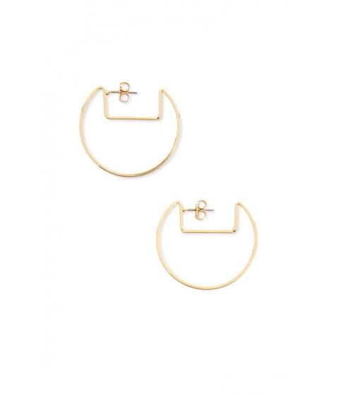 Bijuterii Femei Forever21 Cutout Drop Earrings GOLD