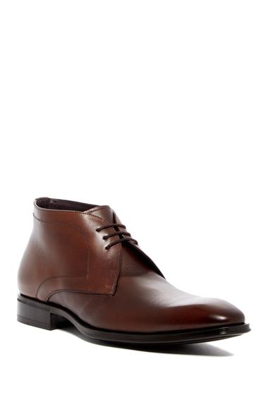 Incaltaminte Barbati Mezlan Cabra Leather Chukka Boot COGNAC