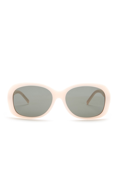 Ochelari Femei Saint Laurent Womens Paris Oversized Sunglasses SHNY OPAL PEACH