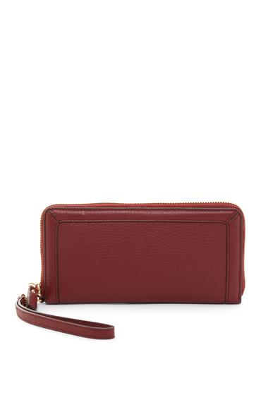 Genti Femei Vince Camuto Greva Leather Wristlet Wallet SAMBA 01