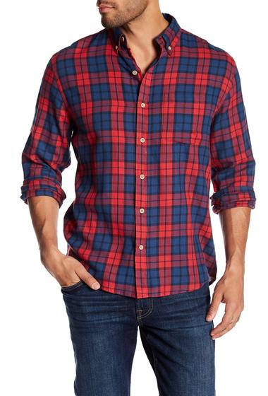 Imbracaminte Barbati Vintage 1946 Light Weight Plaid Print Flannel Shirt REDNVY PLAID