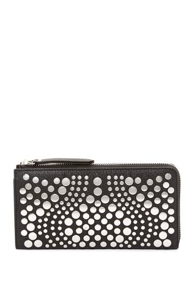 Genti Femei Vince Camuto Bonny Leather Wallet NERO 01