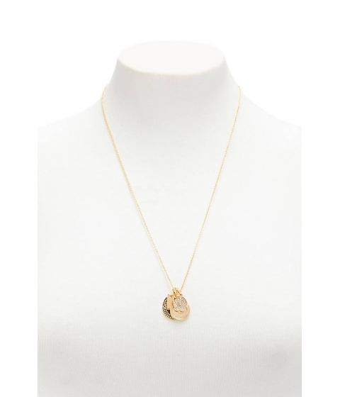 Bijuterii Femei Forever21 Rhinestone Charm Necklace GOLD