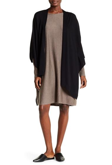 Imbracaminte Femei Eileen Fisher Wool Serape BLACK