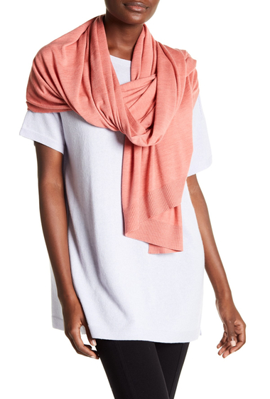 Imbracaminte Femei Eileen Fisher Wool Shawl CORAL