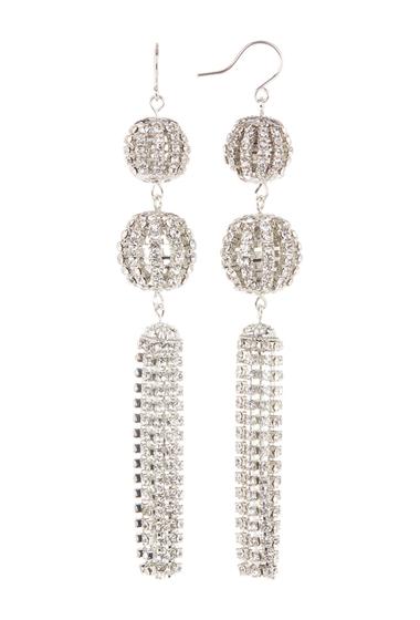 Bijuterii Femei CRISTABELLE Crystal Tassel Fringe Earrings CRYRHOD