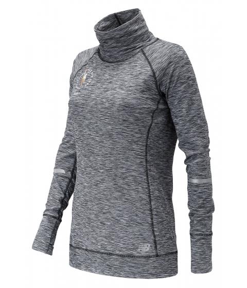 Incaltaminte Femei New Balance Women's NYC Marathon In Transit Tunic Top Black with White