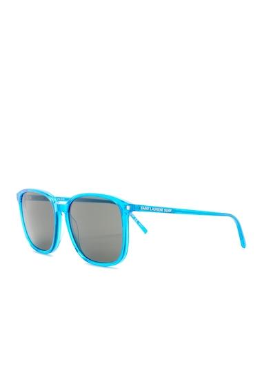 Ochelari Femei Saint Laurent Womens Surf Square Sunglasses BLUE