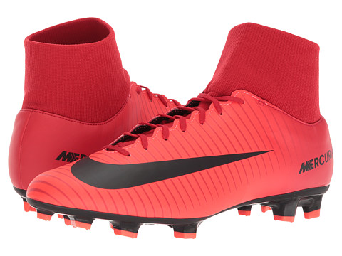 Incaltaminte Barbati Nike Mercurial Victory VI Dynamic Fit FG University RedBlackBright Crimson