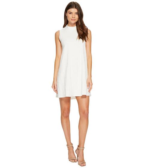 Imbracaminte Femei Catherine Catherine Malandrino Sleeveless Mock Neck Dress Off-White