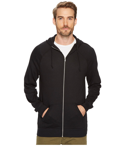 Imbracaminte Barbati Alternative Apparel Weekender Zip Hoodie Black