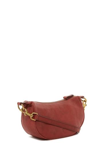 Genti Femei Frye Campus Rivet Small Leather Crossbody Bag BURNT RED
