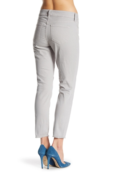 Imbracaminte Femei NYDJ Alina Frayed Stretch Twill Ankle Pants MOONSTONE