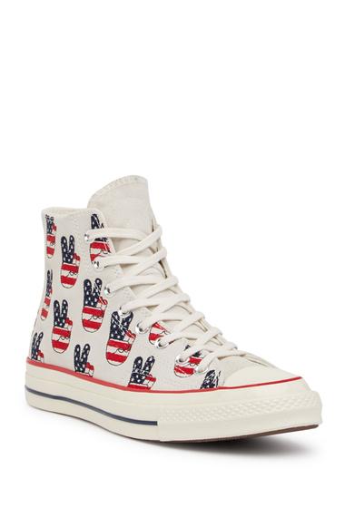 Incaltaminte Barbati Converse Chuck Taylor All Star 70 Hi-Top Sneaker Unisex EGRET-VARSITY R