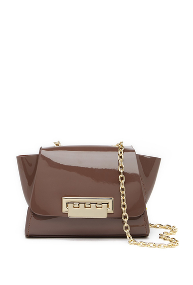 Genti Femei ZAC Zac Posen Eartha Mini Chain Leather Crossbody Bag MOCKING BIRD