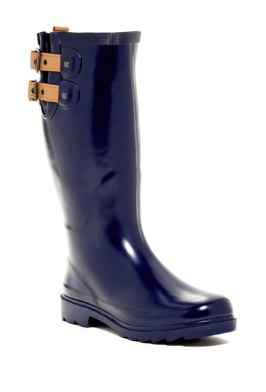 Incaltaminte Femei Chooka Top Solid Waterproof Rain Boot Women MIDNIGHT