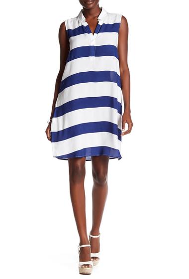 Imbracaminte Femei BeachLunchLounge Stripe Knit Shift Dress AL3629-3BD