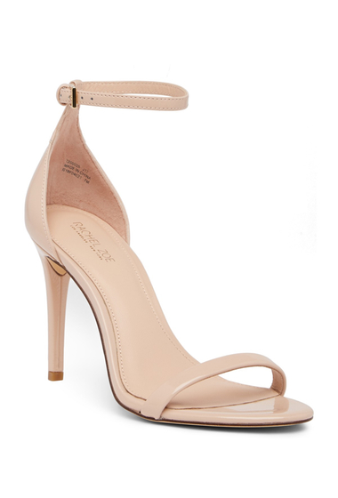 Incaltaminte Femei Rachel Zoe Ema Patent Leather Stiletto Sandal NUDE PATENT LEATHER