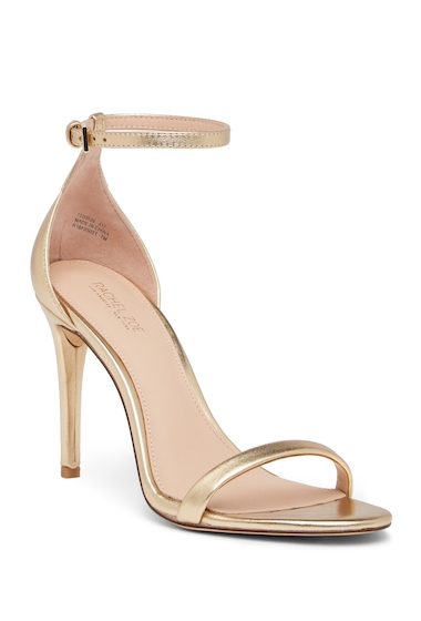 Incaltaminte Femei Rachel Zoe Ema Metallic Leather Stiletto Sandal GOLD METALLIC NAPPA