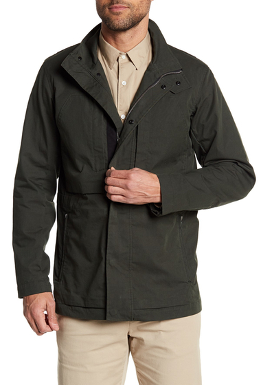 Imbracaminte Barbati Theory Stand Up Collared Jacket With Pockets MNTS