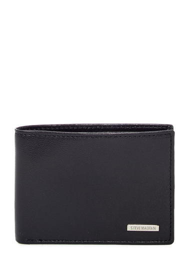 Accesorii Barbati Timberland RFID Billfold Wallet with Paper Clip 08-BLACK