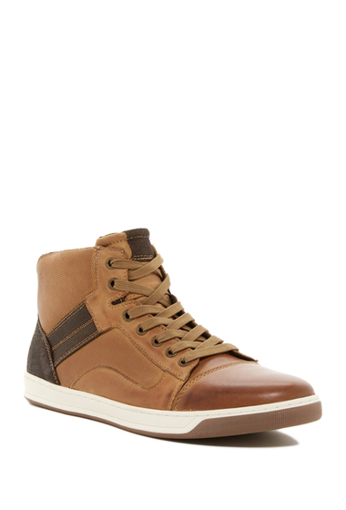 Incaltaminte Barbati Steve Madden Dobler Hi Top Sneaker HONEY LEA