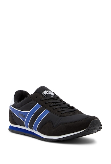Incaltaminte Barbati Gola Monaco Trainer Sneakers BLACKREF BLUEWHITE