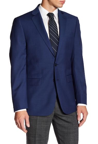 Imbracaminte Barbati Calvin Klein Wool Suit Jacket BLUE