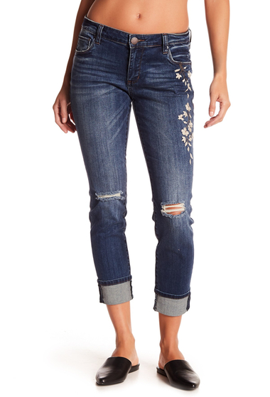 Imbracaminte Femei STS BLUE Taylor Tomboy Embroidered Jeans WEST SAN CLEMEN