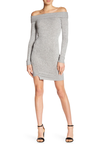Imbracaminte Femei William Rast Kennedy Off-the-Shoulder Dress GREY