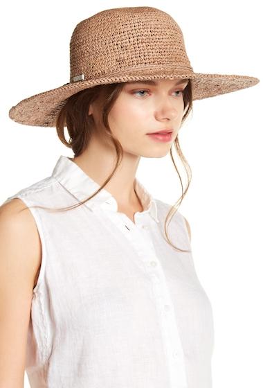 Accesorii Femei San Diego Hat Company Rafia Crochet Sun Hat NOUGAT
