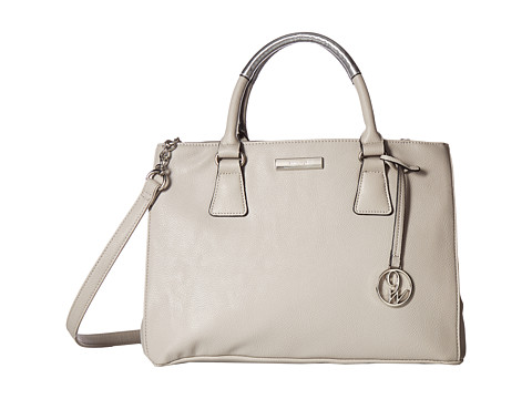 Genti Femei Nine West Sun Up Satchel DoveMetallic Silver